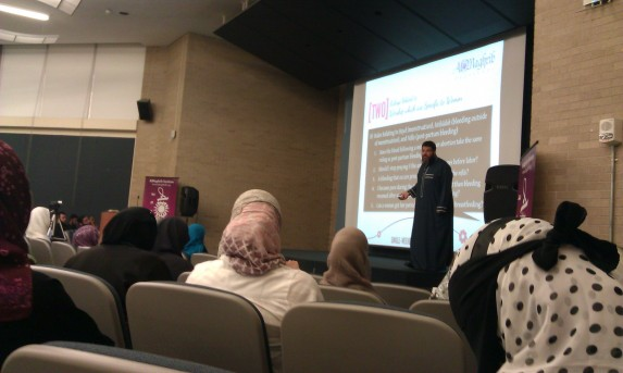 "Shaykh Waleed Basyouni teaching ""Complicated?"" Fiqh of Modern Women's Issues"